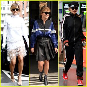 Rita Ora Actually Pulls Off the Socks & Sandals Trend