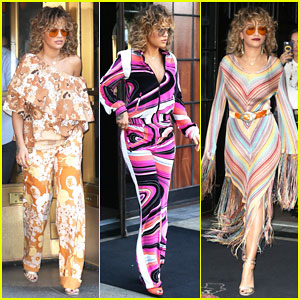 Rita Ora Goes Full On '70s-Inspired for 'Your Song' NYC Promo!