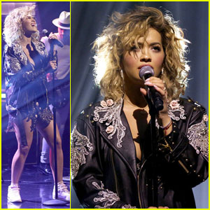Rita Ora Performs 'Your Song' Live on 'The Tonight Show' - Watch Here!