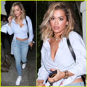 Rita Ora Shows Off Her Hot Bikini Bod on Vacation!