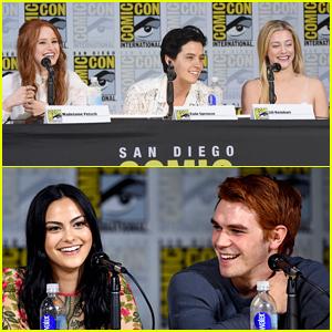 'Riverdale' Cast Previews Season 2 at Comic-Con – Watch Now!