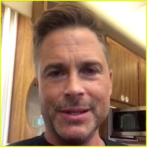 Rob Lowe Sends Video to Fan Battling Cancer: 'All My Love'