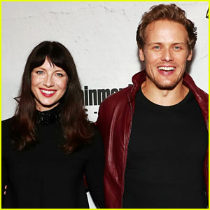 Outlander's Caitriona Balfe & Sam Heughan Stop By EW's Comic-Con Party!