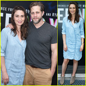 Sara Bareilles & Boyfriend Joe Tippett Have Date Night at 'Seeing You' Industry Performance!