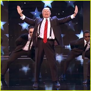 'Singing Trump' Performs Backstreet Boys Medley on 'America's Got Talent' (Video)
