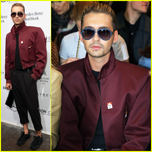 Tokio Hotel's Bill Kaulitz Steps Out In Style for Malakaraiss Fashion Show!