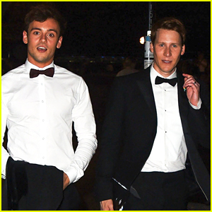 Tom Daley Supports Husband Dustin Lance Black at Pride Gala in London