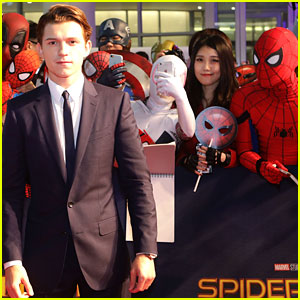 Tom Holland Is Surrounded By Spider-Men at Seoul Premiere