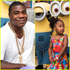 Tracy Morgan's Daughter Celebrates Birthday with Minions!