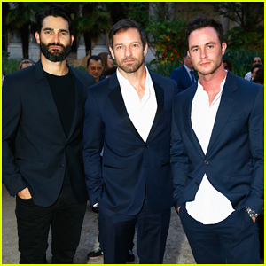 Tyler Hoechlin, Ian Bohen & Ryan Kelley Represent 'Teen Wolf' at amfAR Paris Dinner!