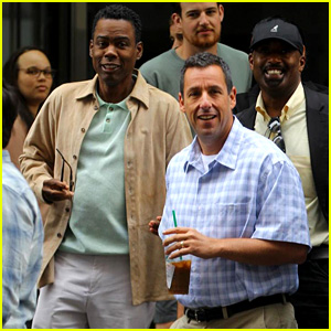 Adam Sandler & Chris Rock Pull Off the Dad Look for New Netflix Movie