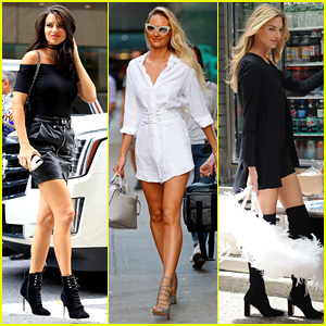 Adriana Lima & More Angels Visit Victoria's Secret for Fittings!