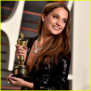 Alicia Vikander Hasn't Seen Her Oscar in a Very Long Time!