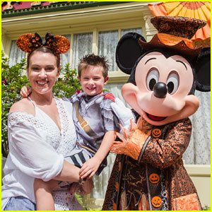 Alyssa Milano Takes 6-Year-Old Son to Disney World for Birthday!