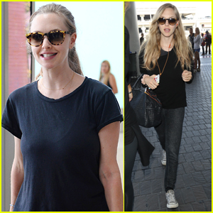 Amanda Seyfried Arrives in Italy for Venice Film Festival