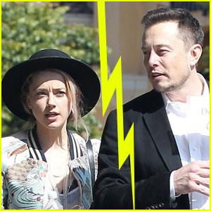 Amber Heard & Elon Musk Split After 1 Year of Dating (Report)