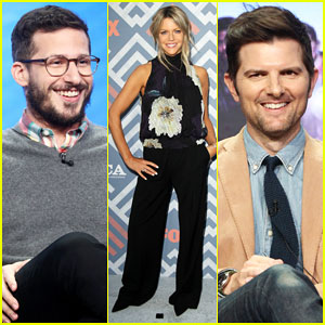 Andy Samberg, Kaitlin Olson & Adam Scott Bring the Comedy to Fox TCA Summer Party!