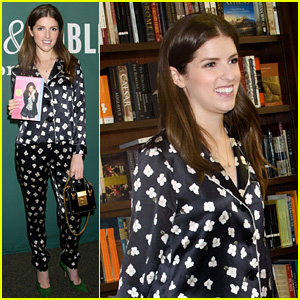 Anna Kendrick Celebrates Paperback Release of Her Book!