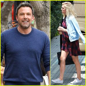 Ben Affleck Runs Errands with Girlfriend Lindsay Shookus in Santa Monica