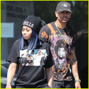 Blac Chyna & Mechie Do Some Shopping Together at Calabasas Car Dealership!