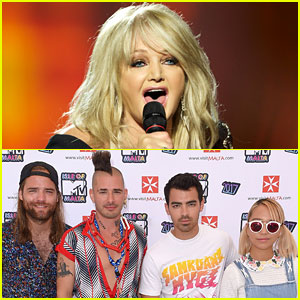 Bonnie Tyler to Sing 'Total Eclipse of the Heart' During Eclipse with Joe Jonas & DNCE!