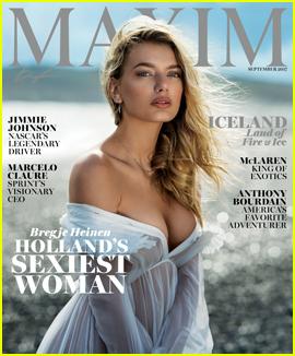 Bregje Heinen Stuns on the Cover of 'Maxim' Magazine!
