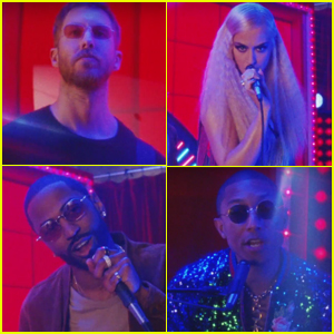 Calvin Harris Releases Second 'Feels' Music Video with Katy Perry, Big Sean, & Pharrell Williams - Watch!