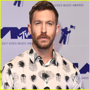 Calvin Harris Shows Off His Growing Beard at MTV VMAs 2017