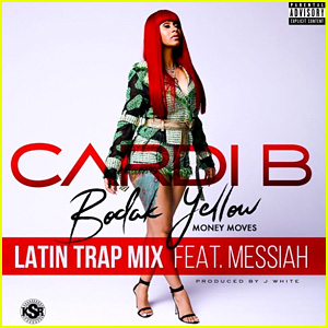 Cardi B feat. Messiah: 'Bodak Yellow - Latin Trap Remix' Stream, Lyrics, & Download - Listen Now!