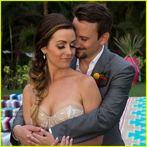 See 'Bachelor' Couple Carly Waddell & Evan Bass' Wedding Pics