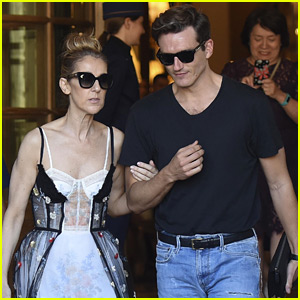 Celine Dion's Dancer Pepe Munoz Escorts Her Around Paris