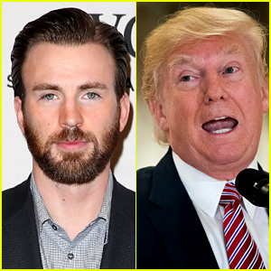 Chris Evans Is Outraged By Donald Trump's Press Conference