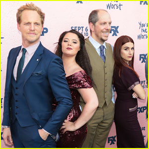 Chris Geere & 'You're The Worst' Cast Celebrate Season 4 Premiere - Watch First Look!