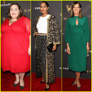 Chrissy Metz, Tracee Ellis Ross & More Prep for 2017 Emmys at Cocktail Reception!