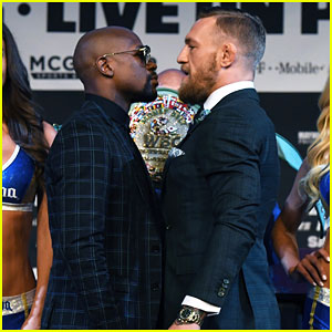 Conor McGregor & Floyd Mayweather Jr Face Off Ahead of Big Match: 'We Are More Than Ready'