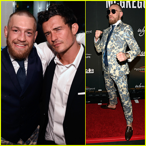 Conor McGregor Hosts Post-Fight After Party at Encore Beach Club in Vegas!