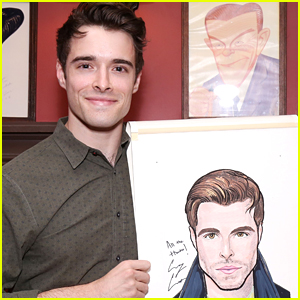 Broadway's Corey Cott Unveils His Portrait at NY's Sardi's