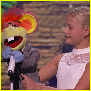 12-Year-Old Ventriloquist Darci Lynne Farmer Debuts New Puppet, Sings 'Who's Lovin' You' on 'America's Got Talent'