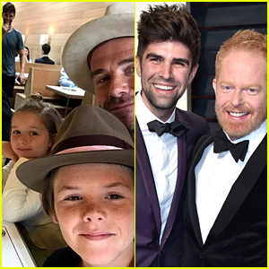 David Beckham's Family Selfie Was Photobombed by Jesse Tyler Ferguson's Husband!