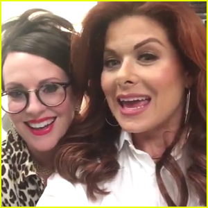Debra Messing Shares Video of 'Will & Grace' Cast on First Night of Taping!