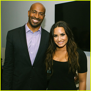 Demi Lovato Joins Van Jones on 'We Rise Against Hate' Tour in Nashville (Video)