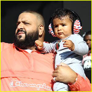 DJ Khaled Brings Son Asahd on Stage During Billboard Hot 100 Music Festival!
