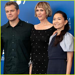 Matt Damon, Kristen Wiig, & Hong Chau Bring 'Downsizing' to Venice!