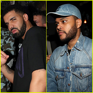 Drake Parties with The Weeknd After OVO Fest Show in Toronto