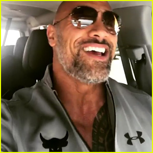 Dwayne 'The Rock' Johnson Has Turned Into a Silver Fox!