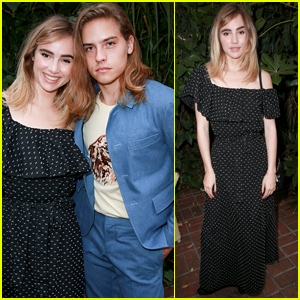 Dylan Sprouse & Suki Waterhouse Attend 'Carte Blanche' Cast Party in WeHo