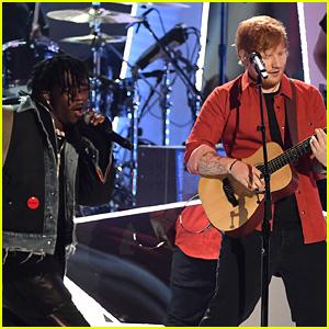 Ed Sheeran Teams Up with Lil Uzi Vert for MTV VMAs 2017 Performance (Video)