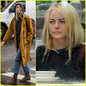 Emma Stone Gets Into Character on Netflix's 'Maniac' Set
