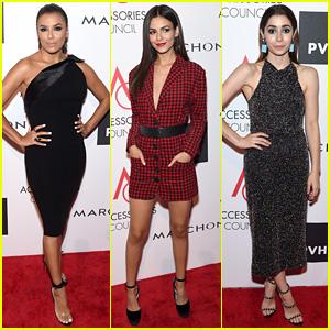 Eva Longoria, Victoria Justice, & Cristin Milioti Look Chic at the ACE Awards