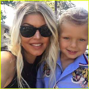 Fergie Shares New Photo of Son Axl on His 4th Birthday!